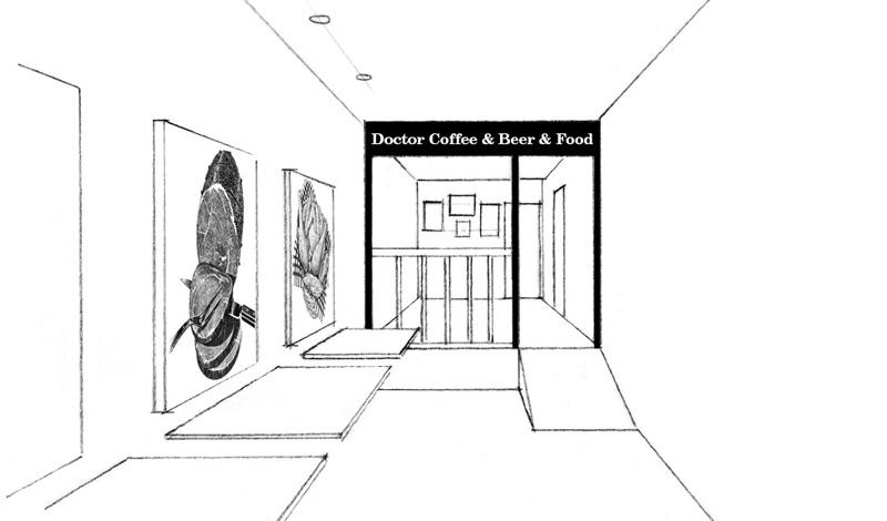 Diseño de interior para cafetería-restaurante (Barcelona)