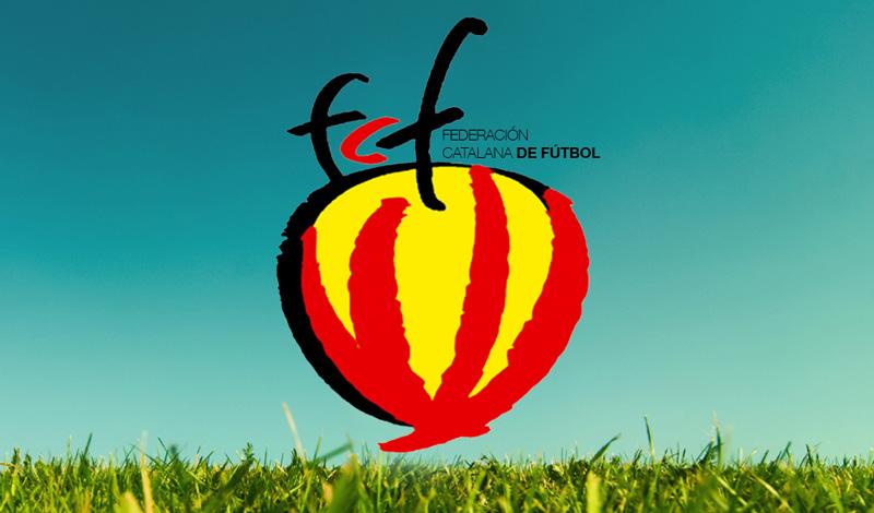 Logotipo finalista para Federación Catalana de Fútbol (Cataluña)