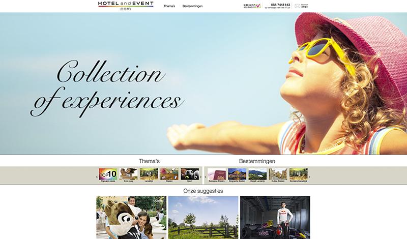 Web de turismo y ocio (Países Bajos)