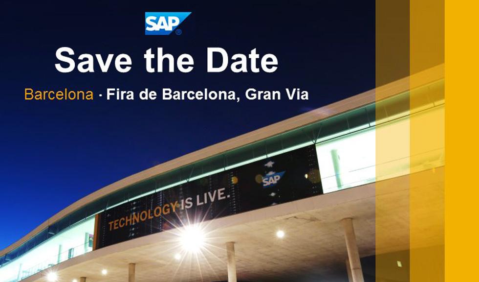Imagen corporativa para meeting mundial de SAP (Barcelona)