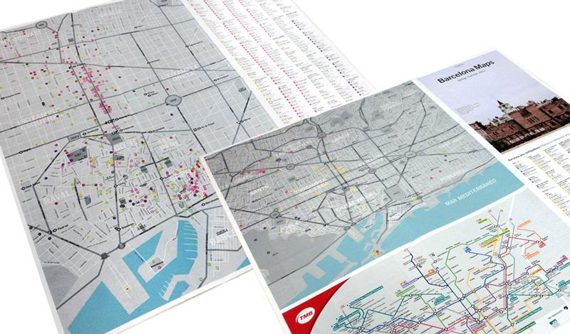 Planos localización como anexo al magazine b-guided (España)